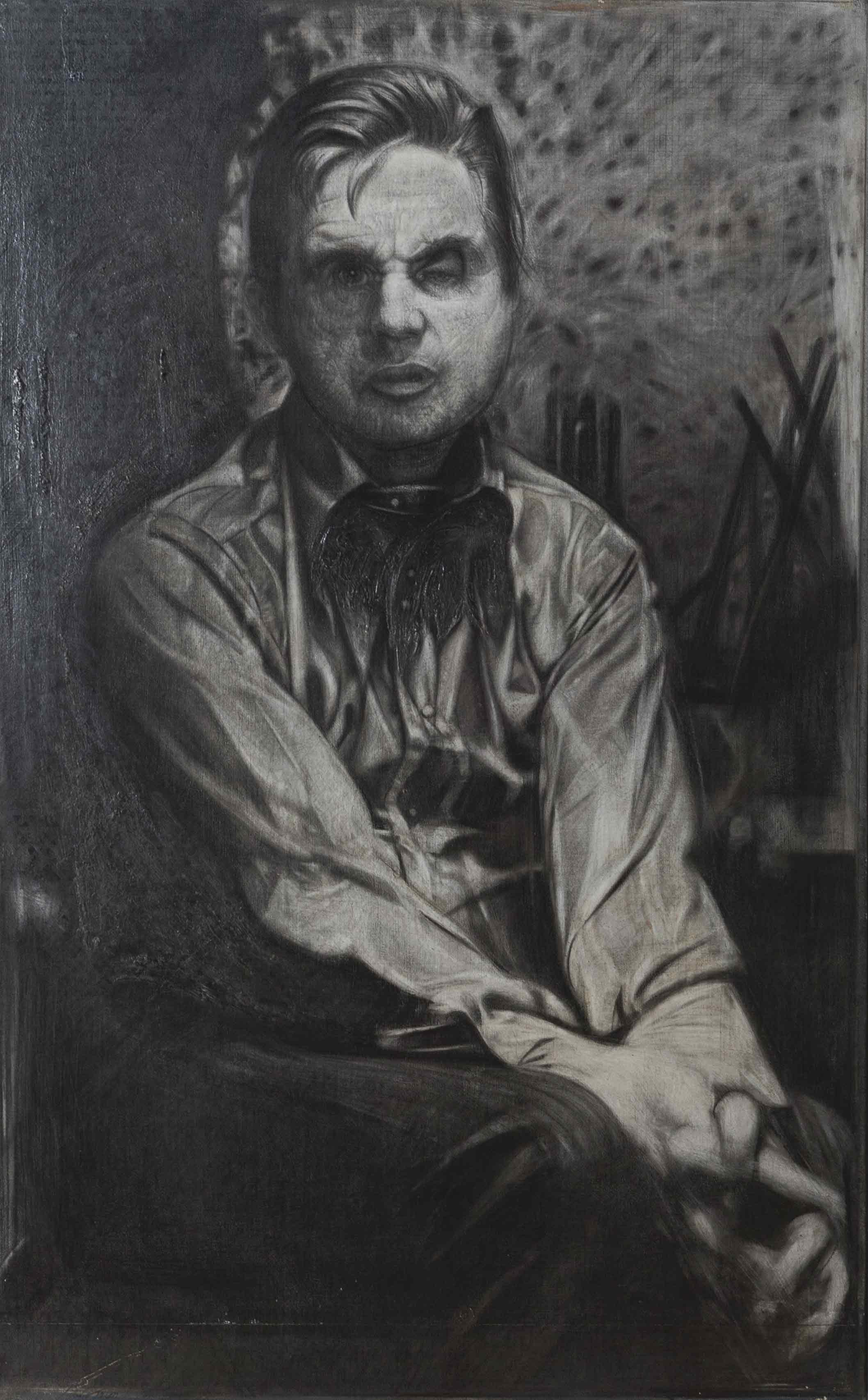 Studio su una fotografia di F. Bacon, 1977