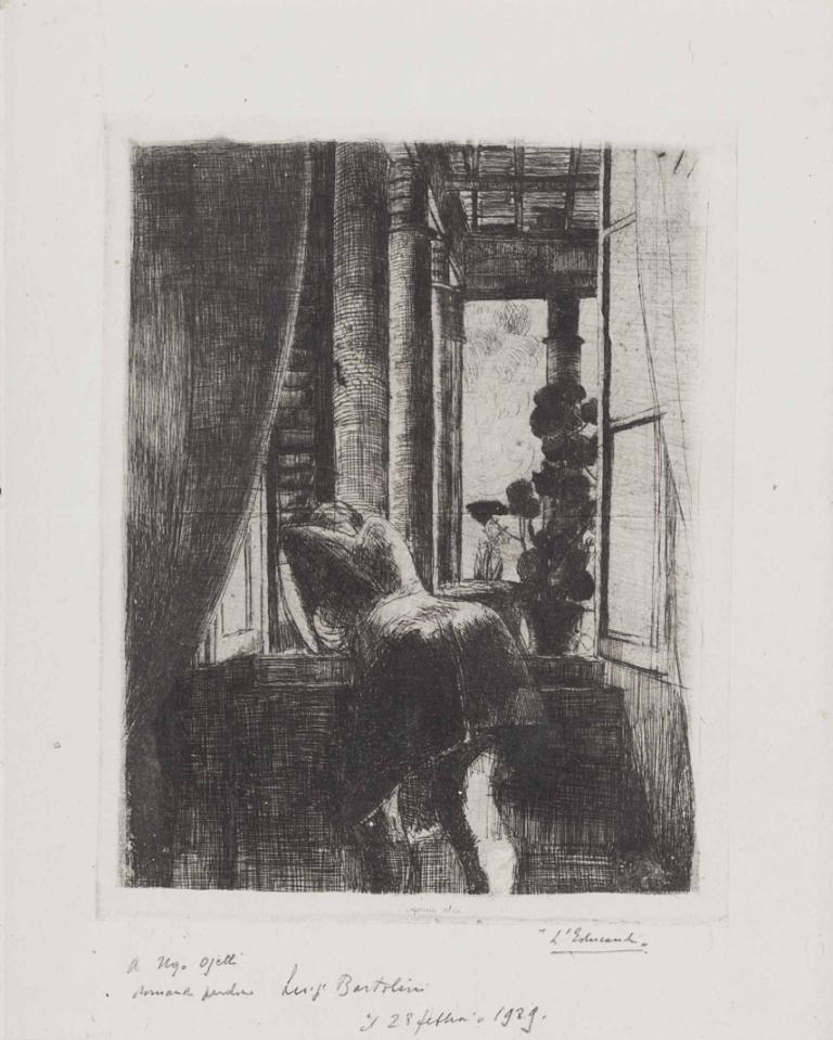 Ragazza alla finestra, 1929