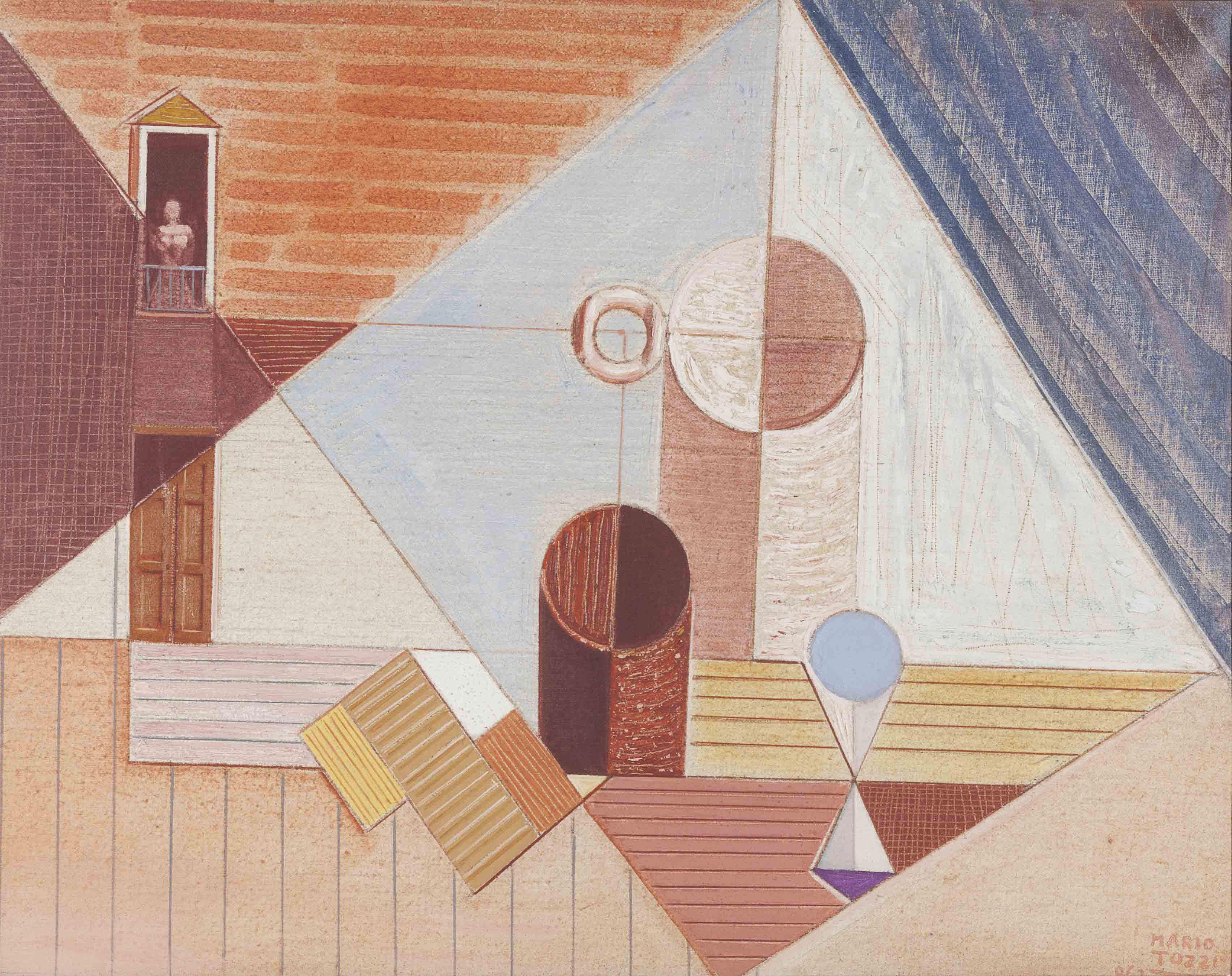 La città bianca, (II versione), 1962
