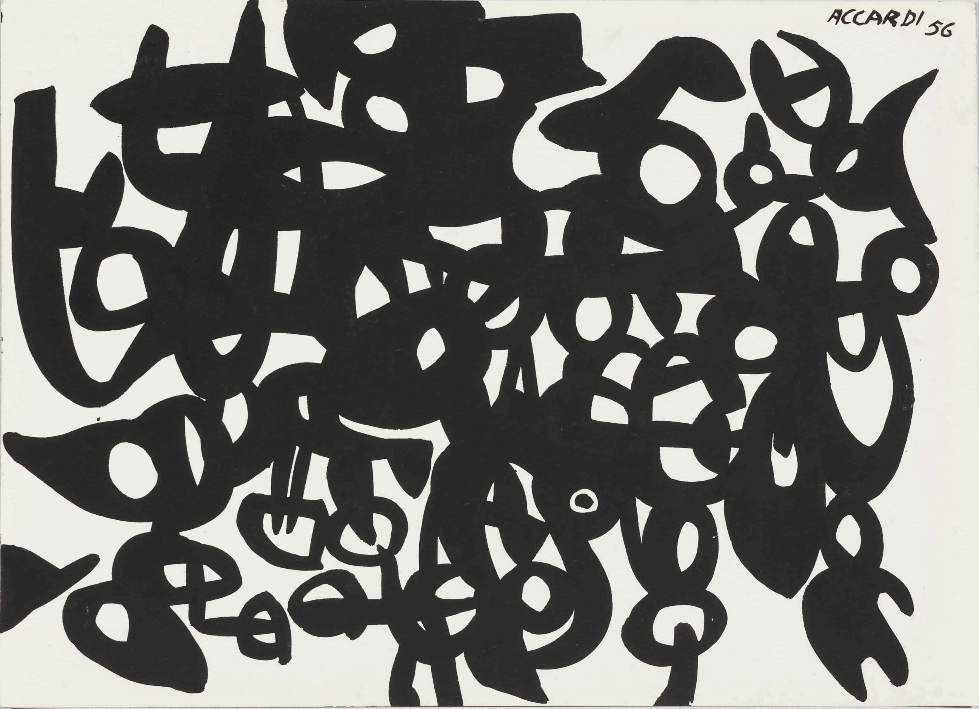 Composizione, 1956