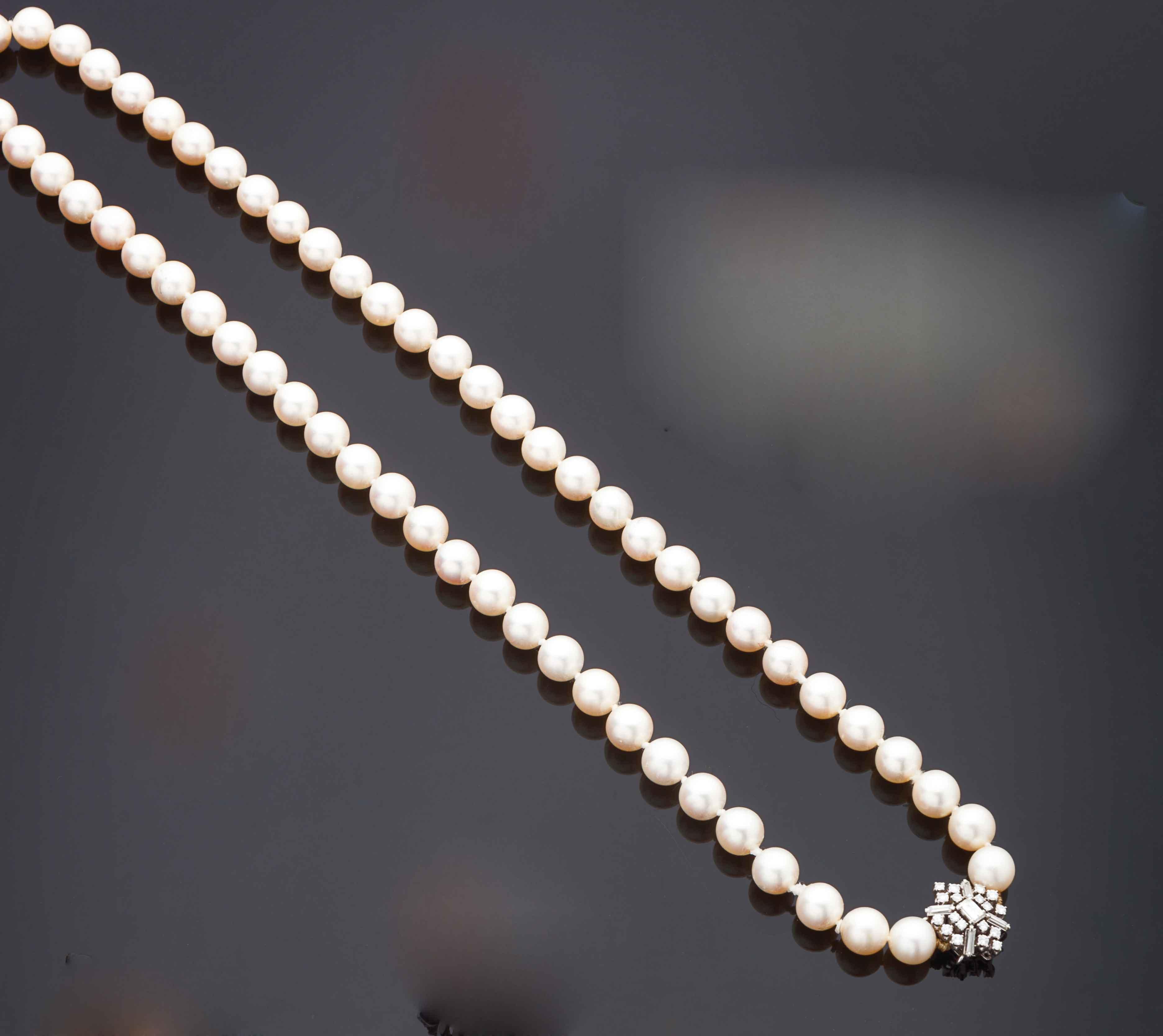 Collana un filo di perle