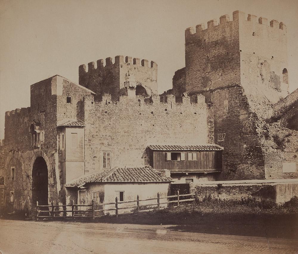 Roma, Porta San Lorenzo, ca. 1860