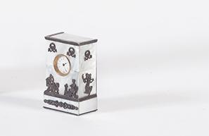 Orologio da tavolo impero