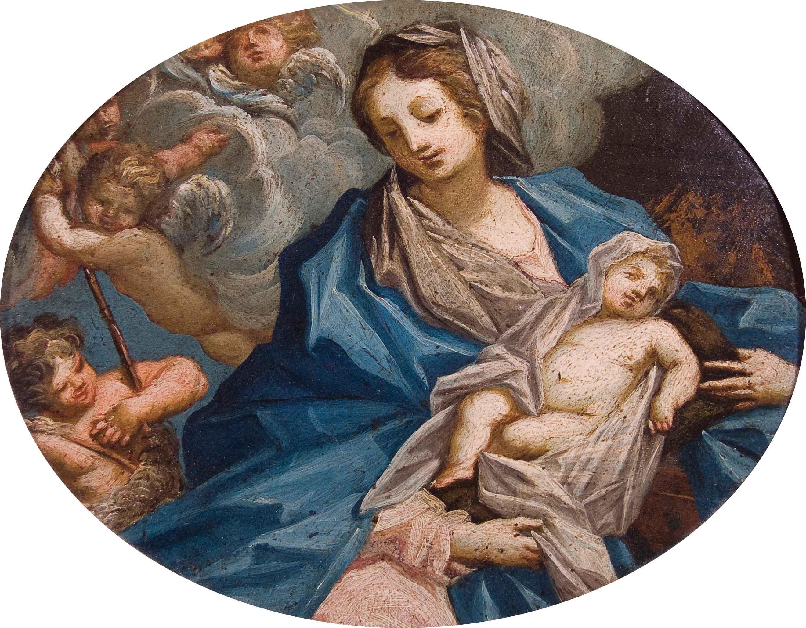 Madonna con Bambino e San Giovannino (2)