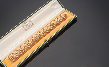 Bracciale in oro giallo 18 kt