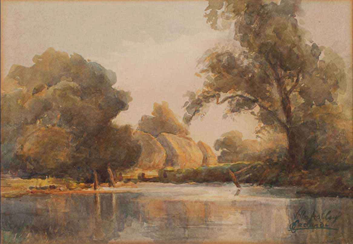 Il laghetto di Villa Astley