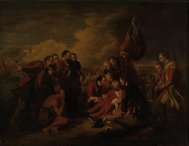 La morte del generale Wolfe