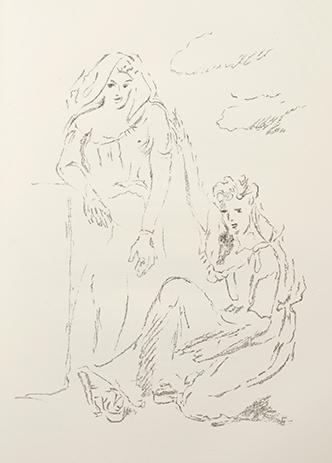 I carmi di Catullo scelti e nuovamente tradotti in versi da Vincenzo Errante e decorati con litografie da Filippo De Pisis