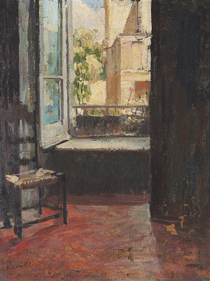 Gaetano ricchizzi la finestra sul cortile dipinti antichi e arte del xix secolo asta 96 - La finestra sul cortile ...