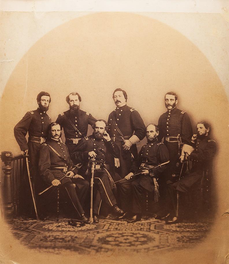 Ufficiali della Guerra Civile Americana, ca. 1860