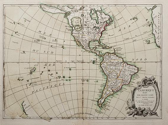 Atlas moderne ou Collection de cartes sur toutes les parties du Globe Terrestre