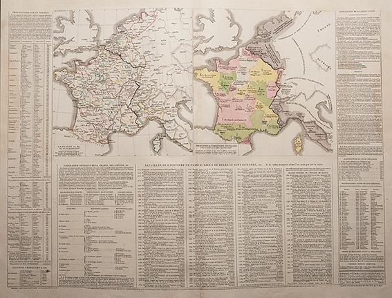 Atlas historique, genealogique, chronologique et geographique