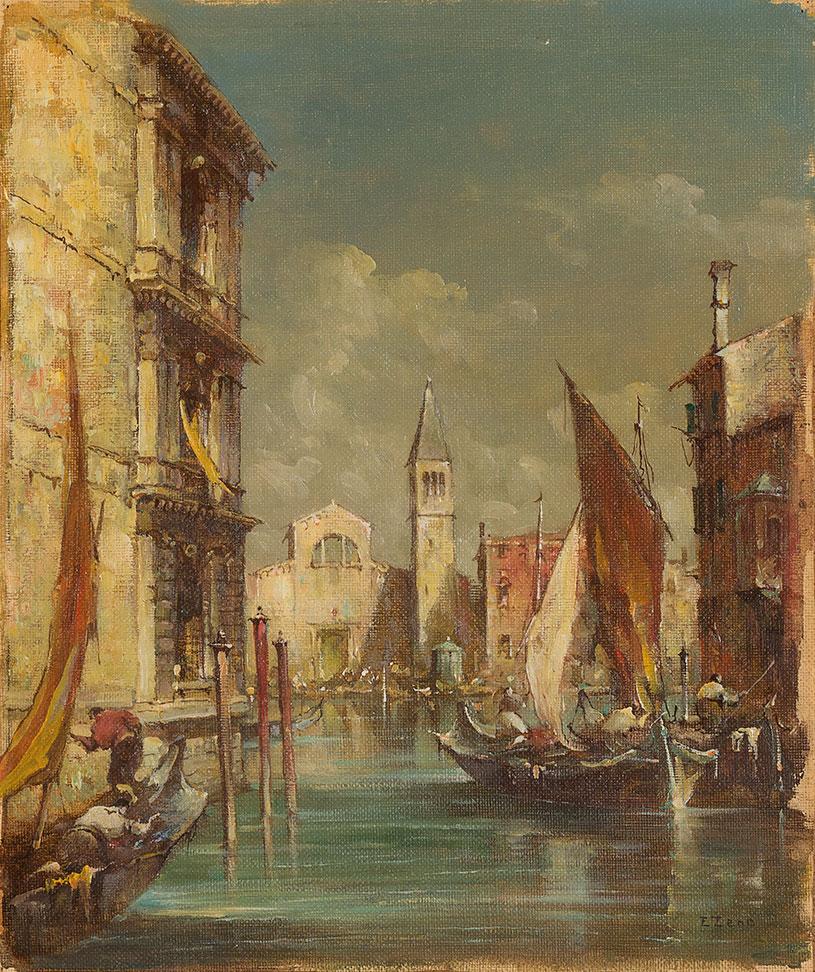 Tre vedute di venezia asta 106 minerva casa d 39 aste for Casa moderna venezia