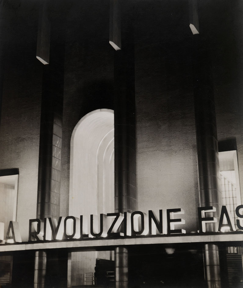 Mostra della rivoluzione fascista palazzo delle for Mostra palazzo delle esposizioni