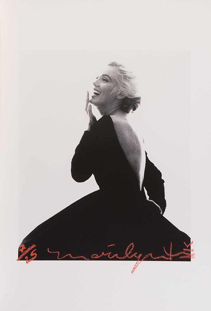 Marilyn in Black Dress, Dior, 1962