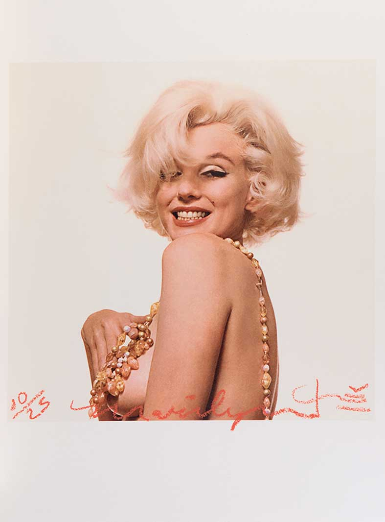 Marilyn Monroe that famous smile, The Last Sitting, 1962