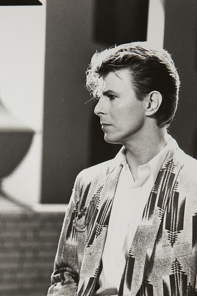 "David Bowie, video set ""Loving the Alien"", 1985"