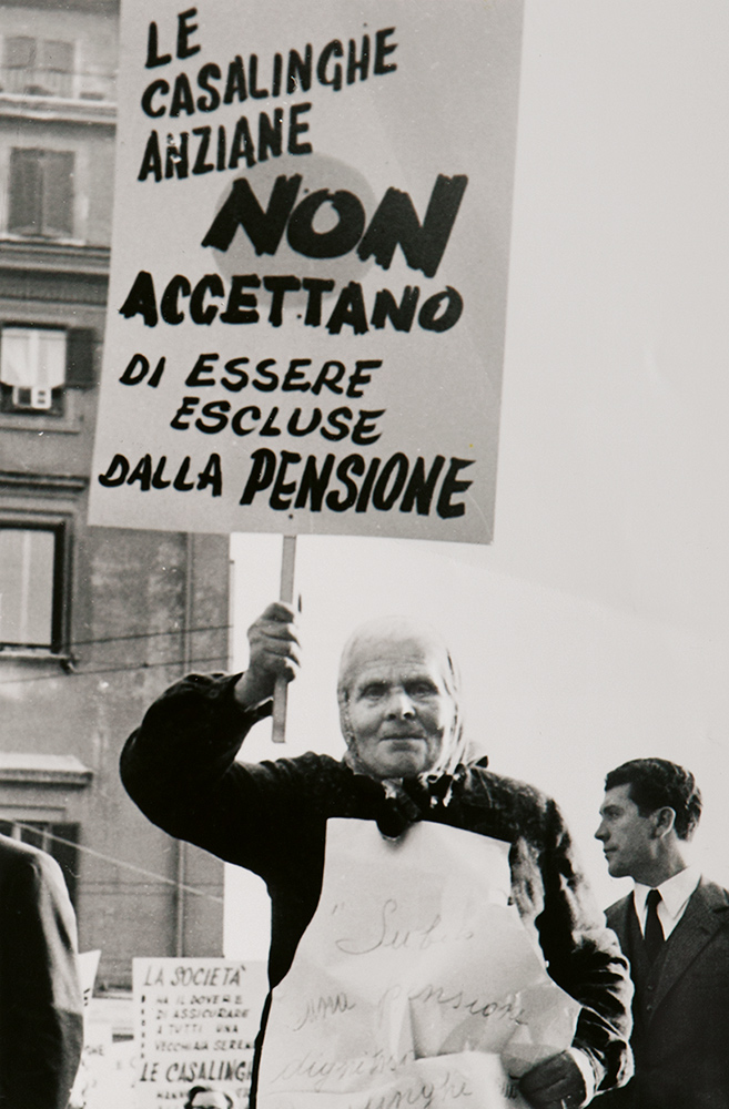 Manifestazione delle casalinghe, 1963