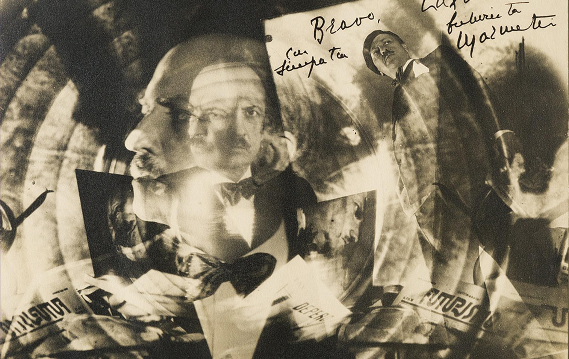 Marinetti futurista, ca. 1930
