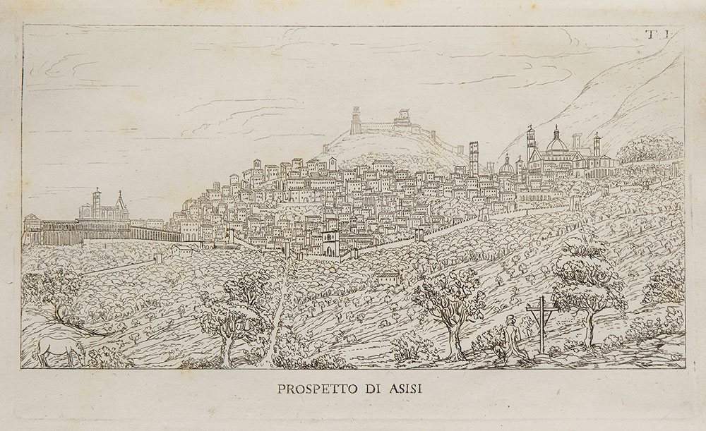 Assisi città serafica e santuarj che la decorano ad istruzione e guida dei forestieri