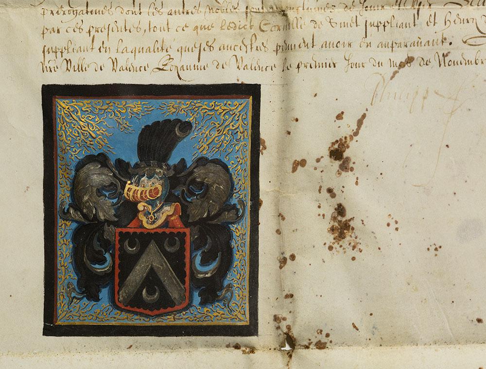 Patente nobiliare – Paesi bassi spagnoli