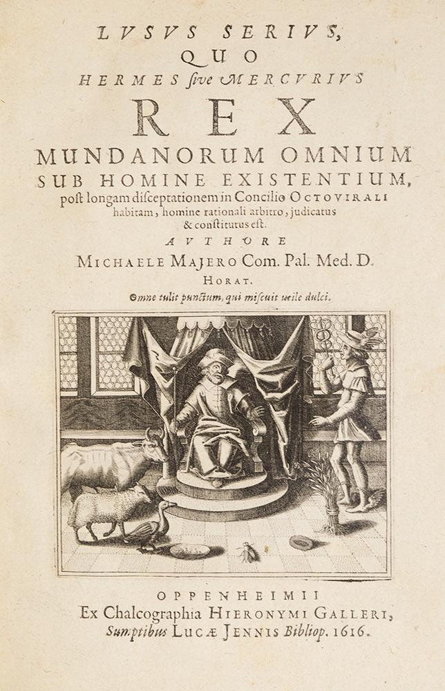 Lusus serius, quo Hermes sive Mercurius
