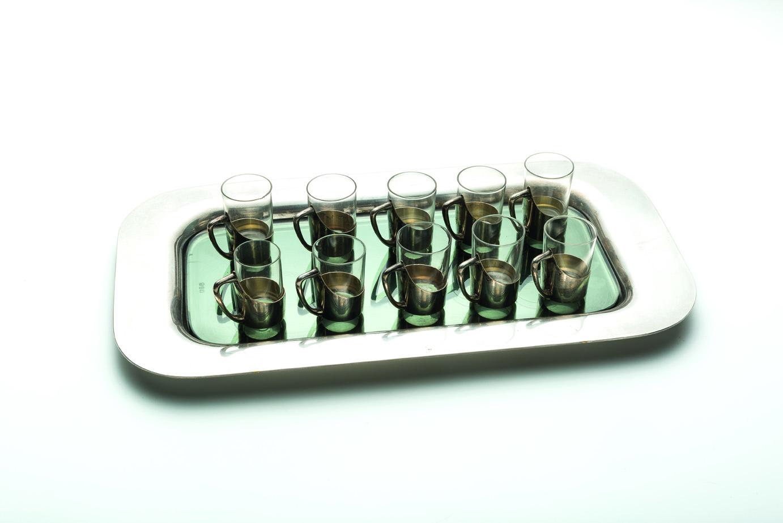 Dalla collezione Rita Levi Montalcini – Dieci piccoli bicchieri