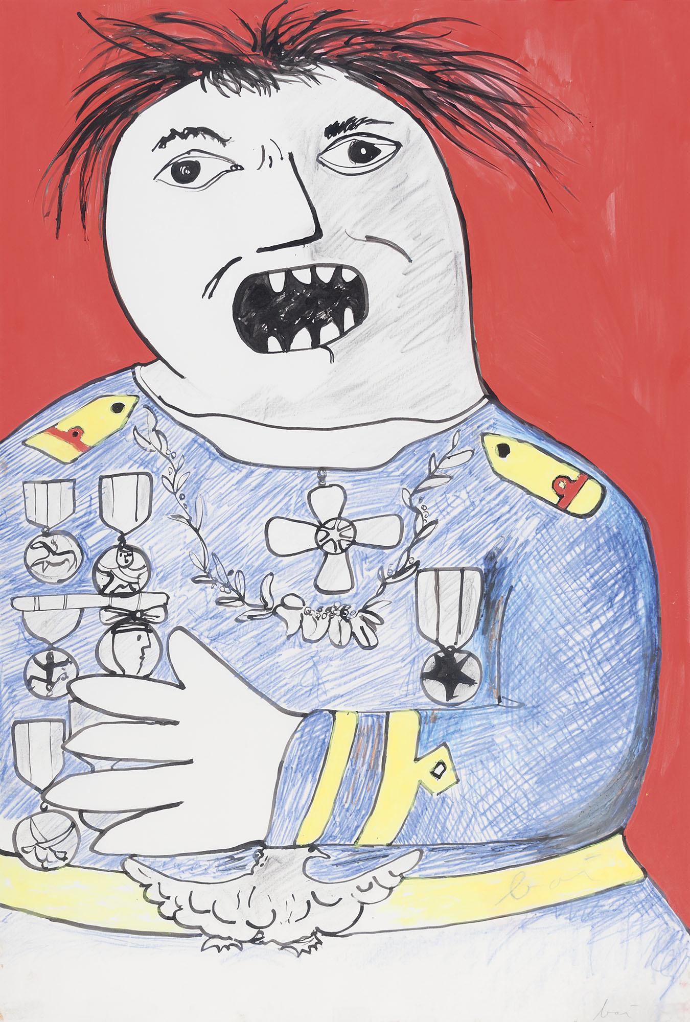 Generale urlante, 1966