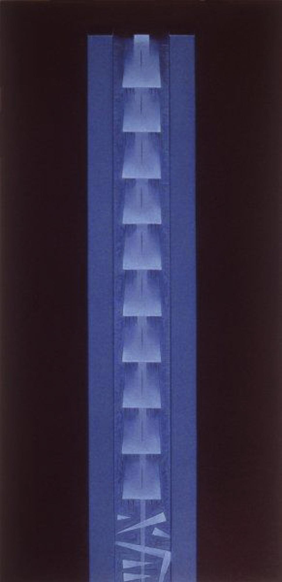 Stele II (blu), 1999