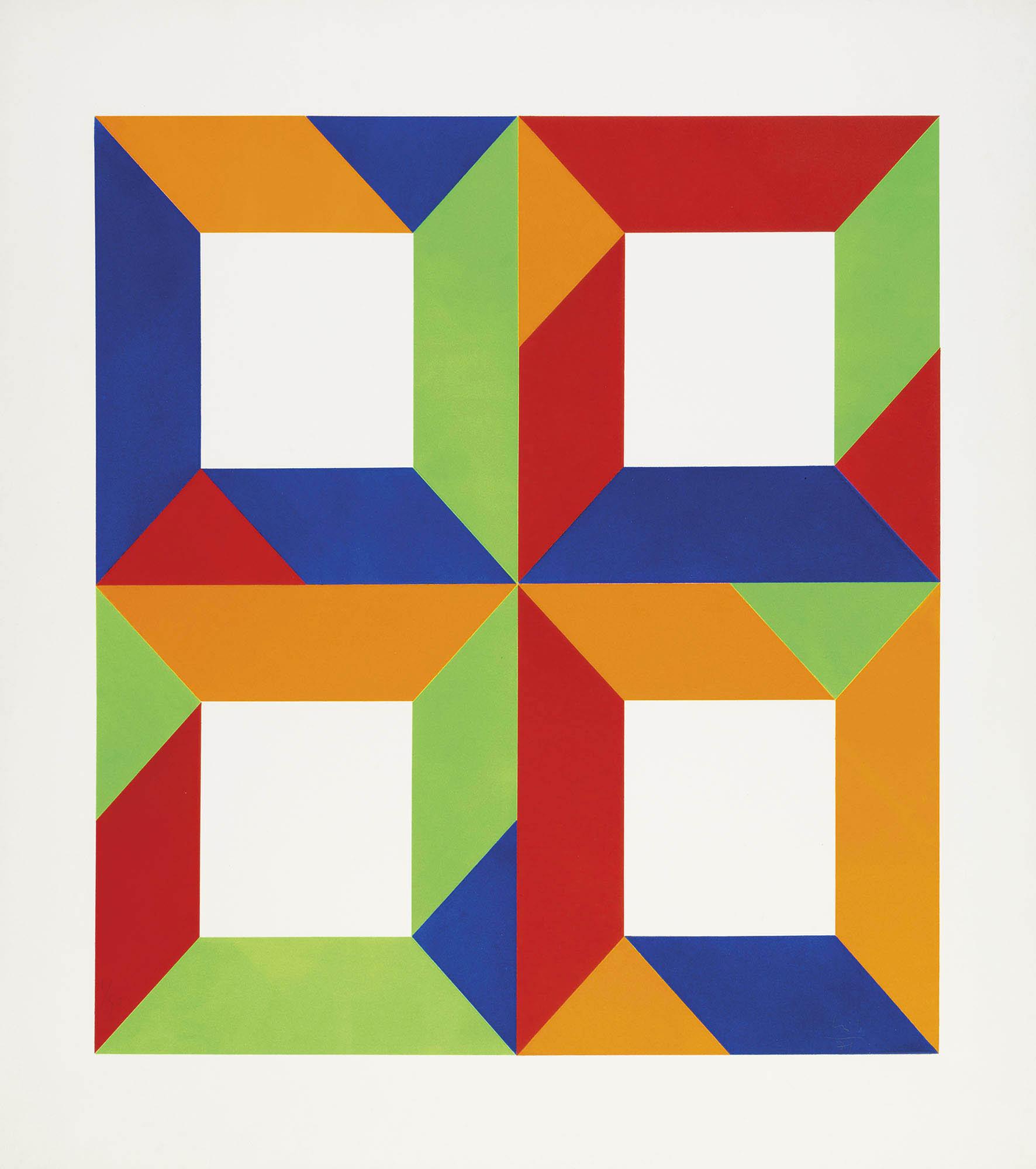 Senza titolo (Presenza grafica), 1971