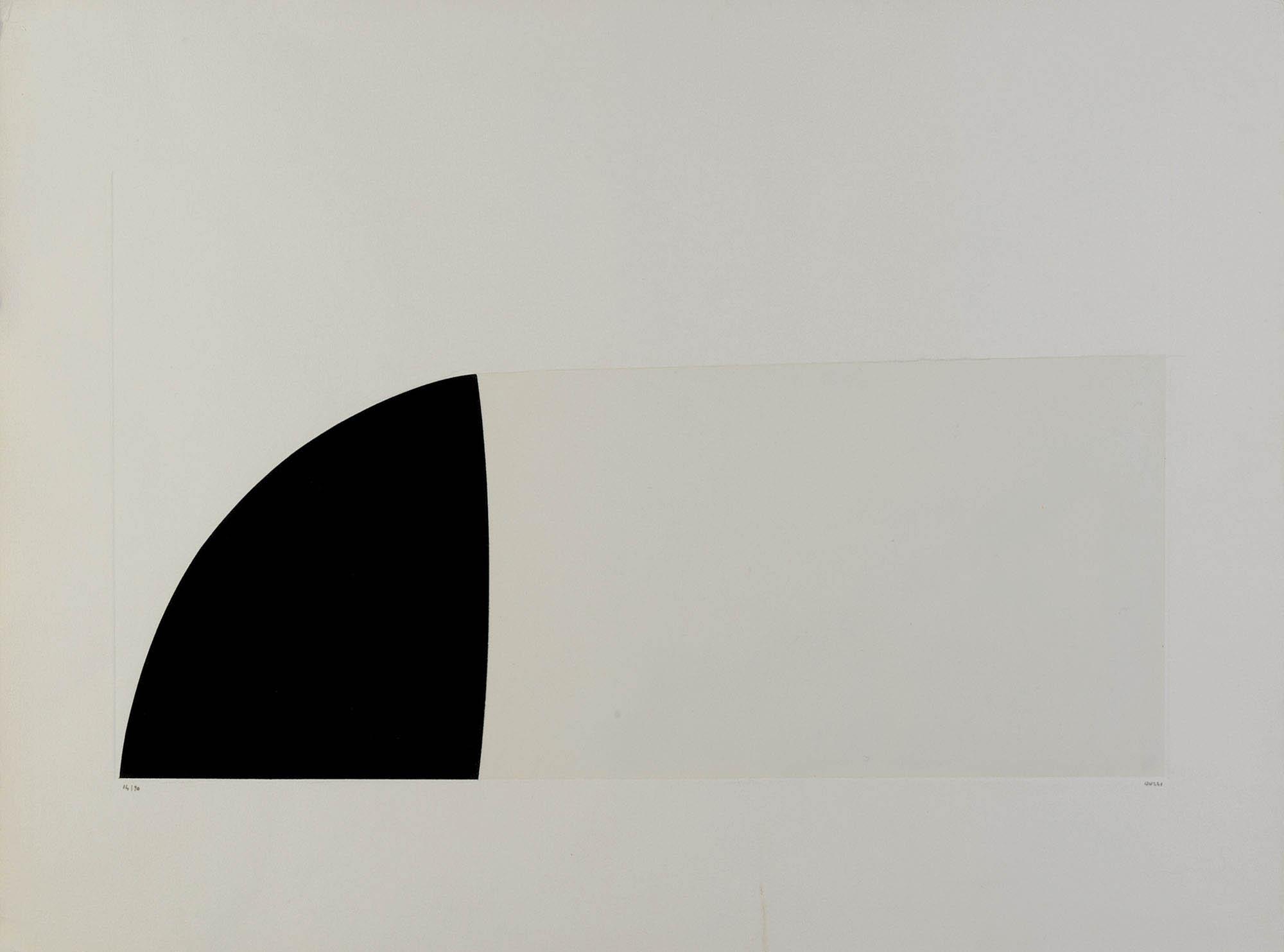 Bianchi e neri II tav. F, 1970