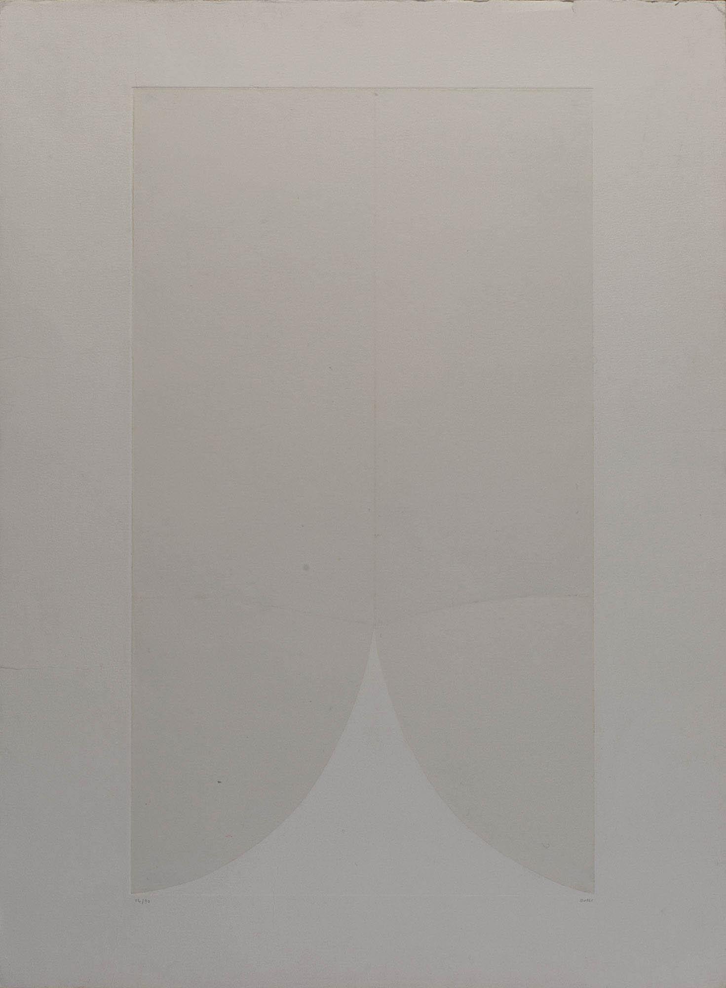 Bianchi e neri II – tavola A, 1970