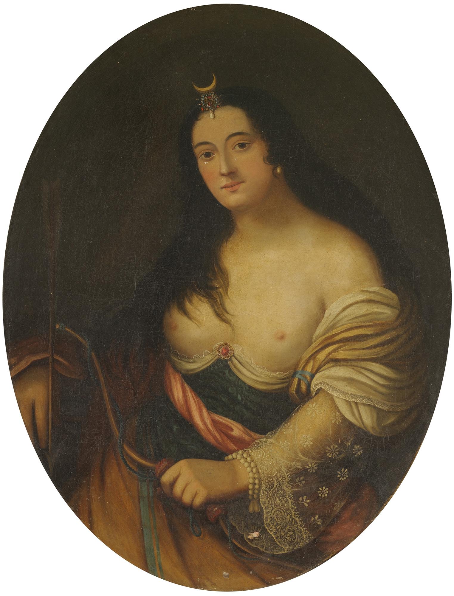 Ritratto di gentildonna in veste di Diana