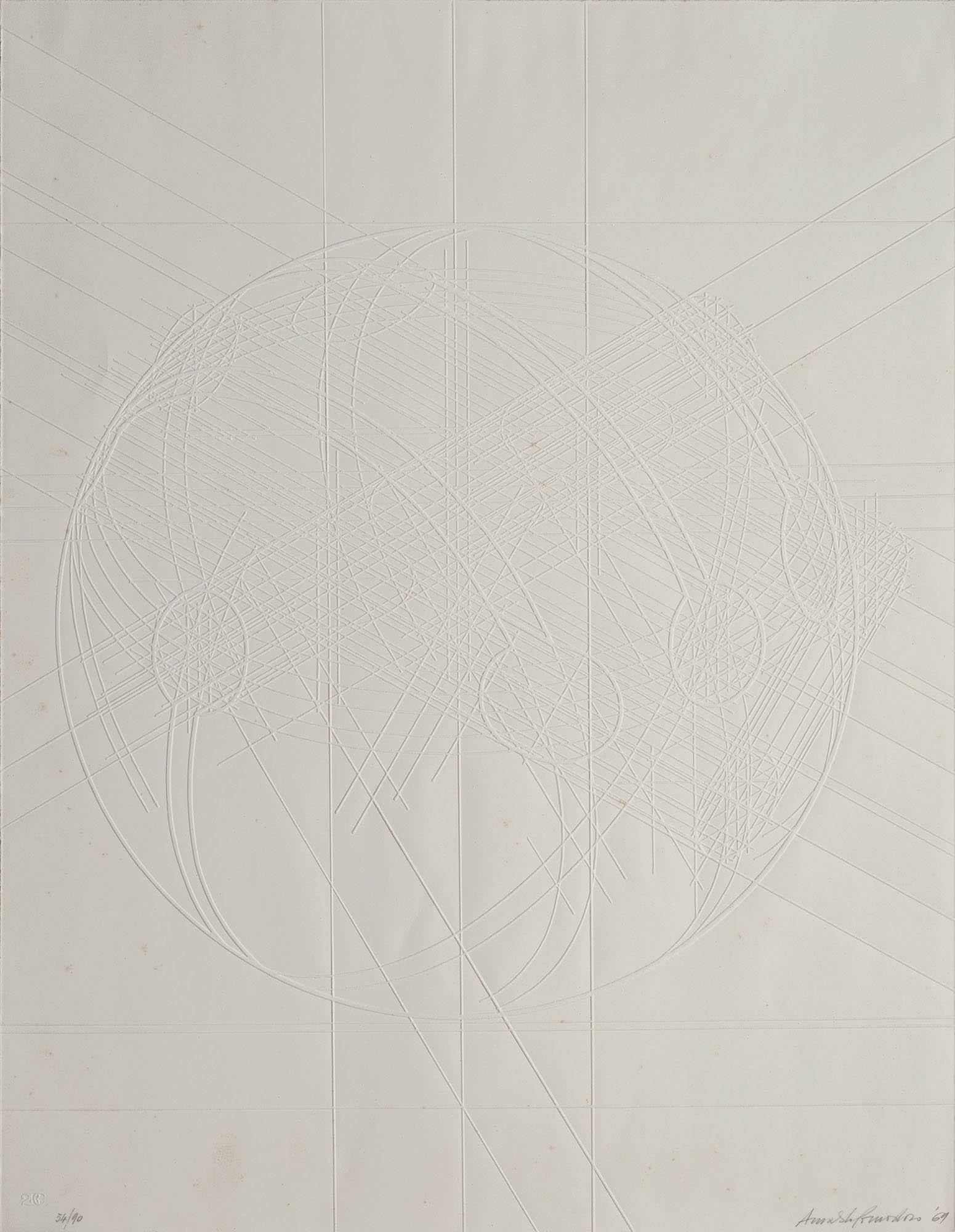 Senza titolo – bianco, 1969