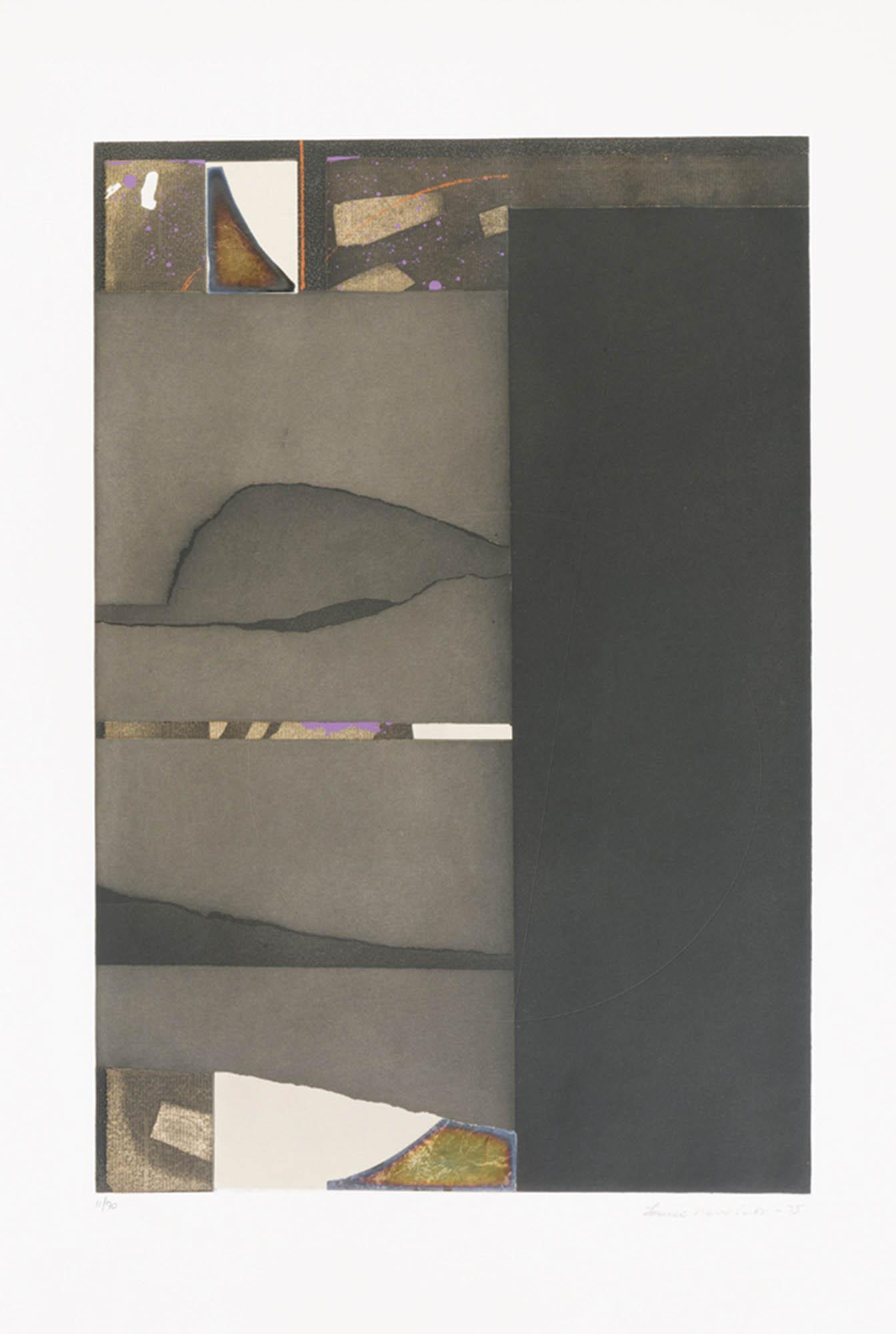 Senza titolo – silver, 1975
