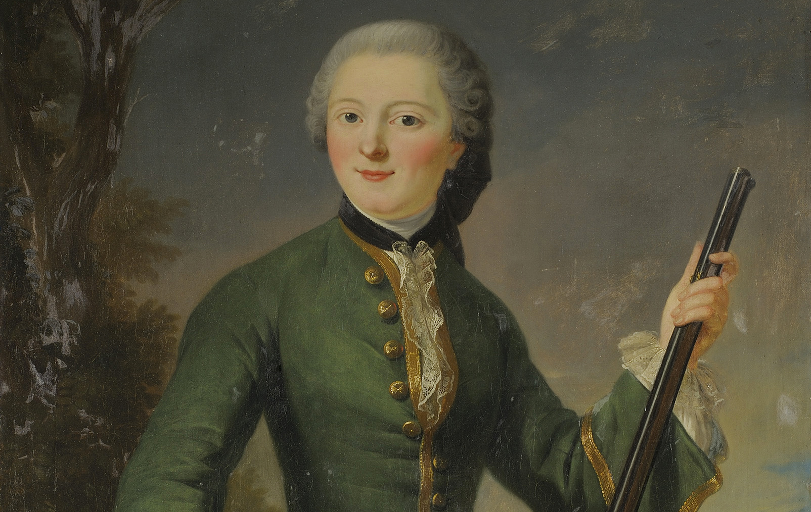 Ritratto della Mademoiselle de Charolais, principessa Louise Anne de Bourbon-Condé (Versailles 1695 – Paris 1758)