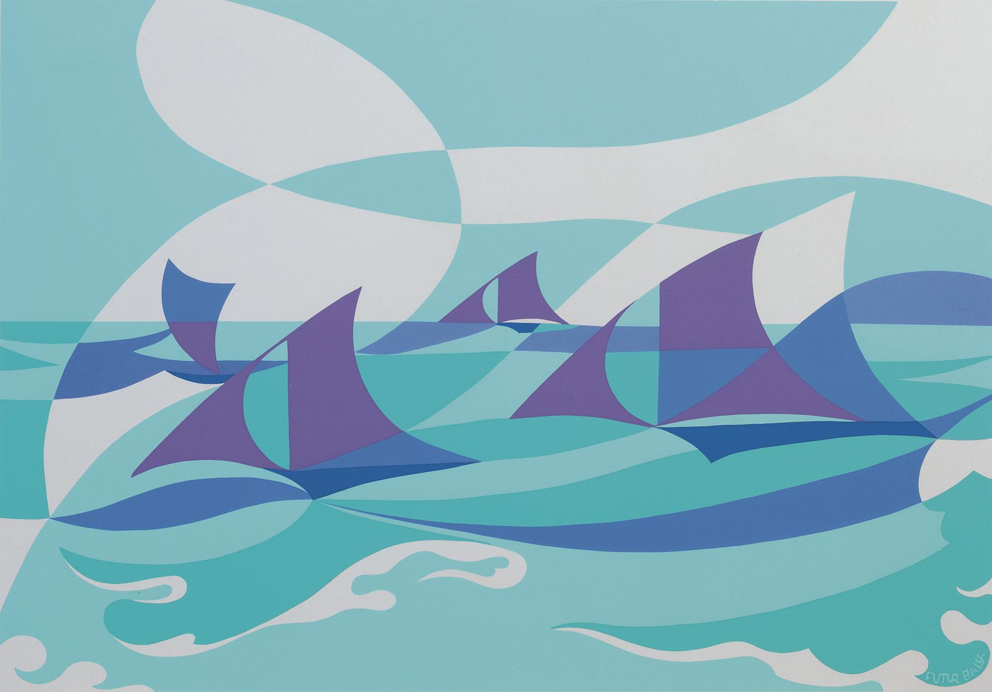 Linee forza di mare