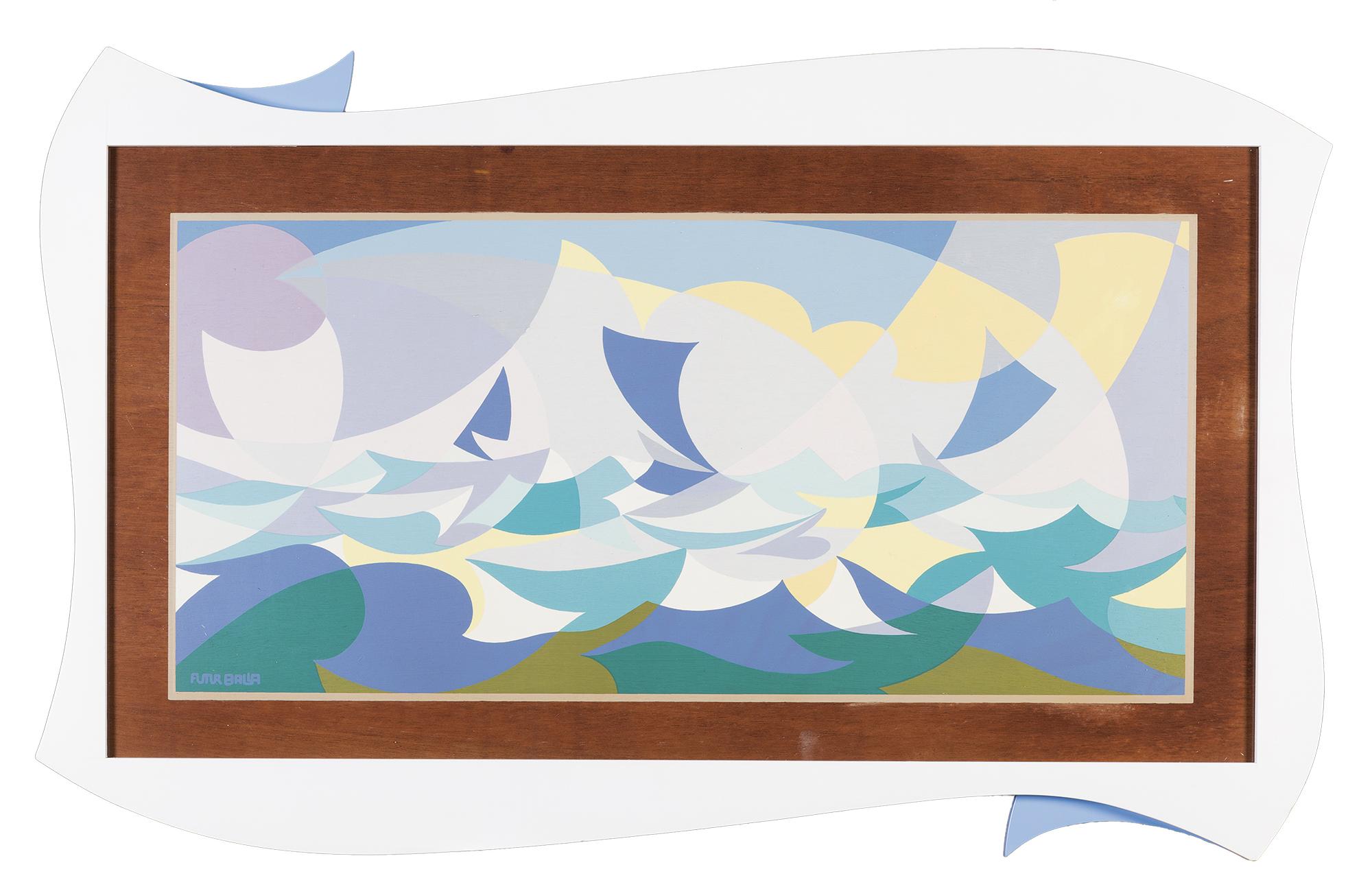 Linee forza di mare (mattutino)