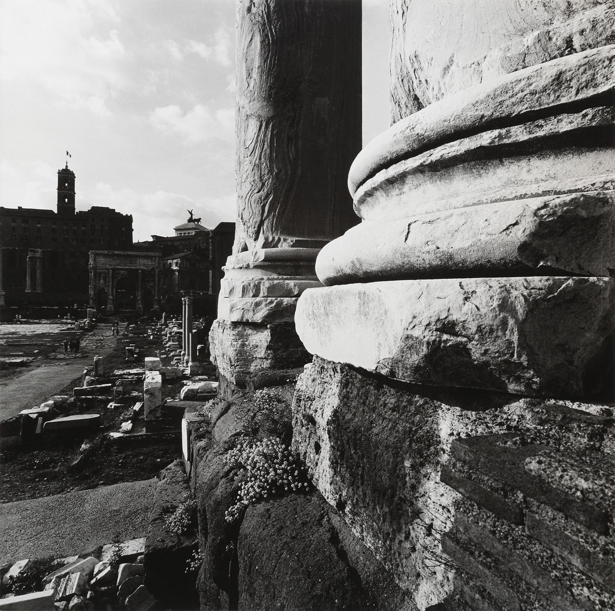 Roma, Fori Imperiali e Campidoglio, 1960