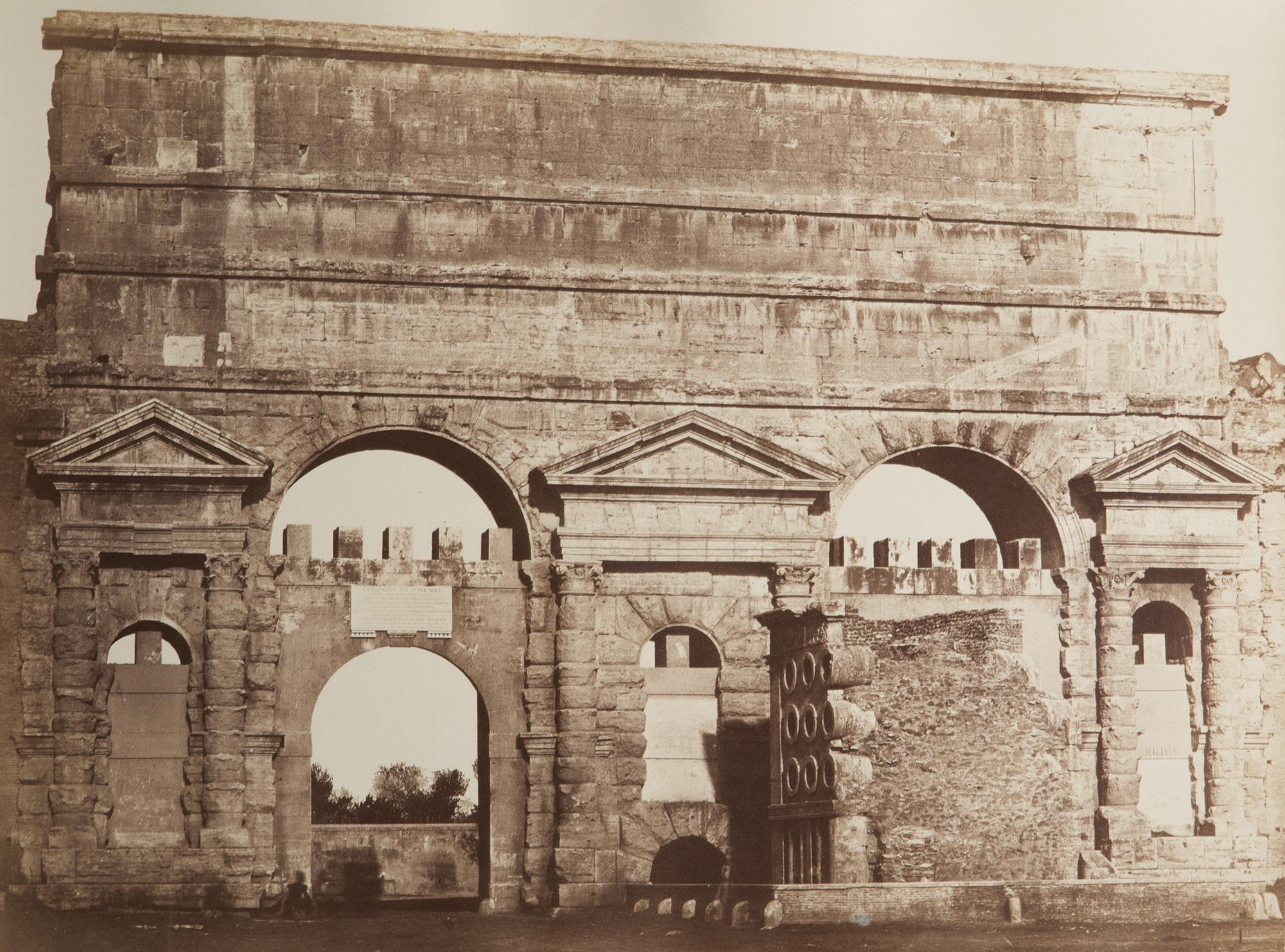 Porta maggiore roma ca 1860 fotografia asta 120 - Ugc porta di roma programmazione ...