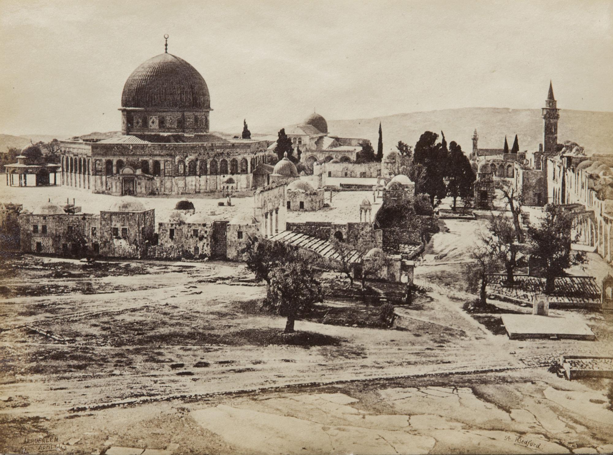 Jerusalem, The Mosk of the Dome, 1862