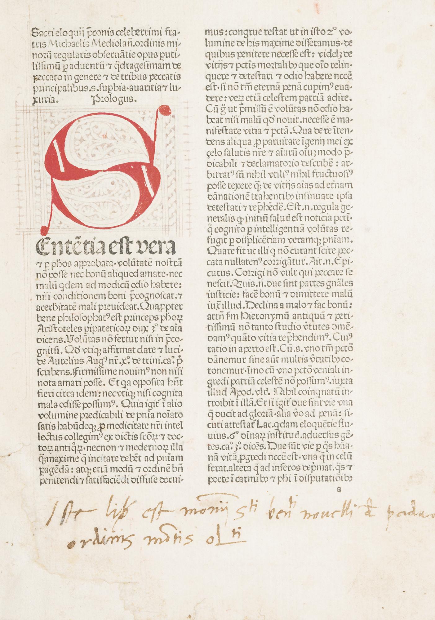 Sermonarium de peccatis per adventum et per duas quadragesimas