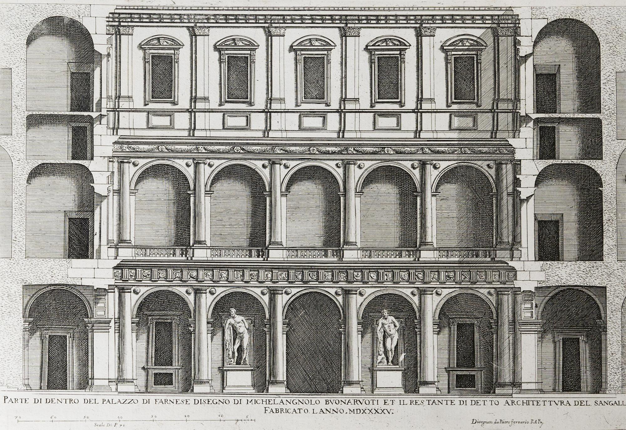 Roma ferrerio palazzi di roma de pi celebri architetti disegnati da pietro ferrerio libro - Portale architetti roma ...
