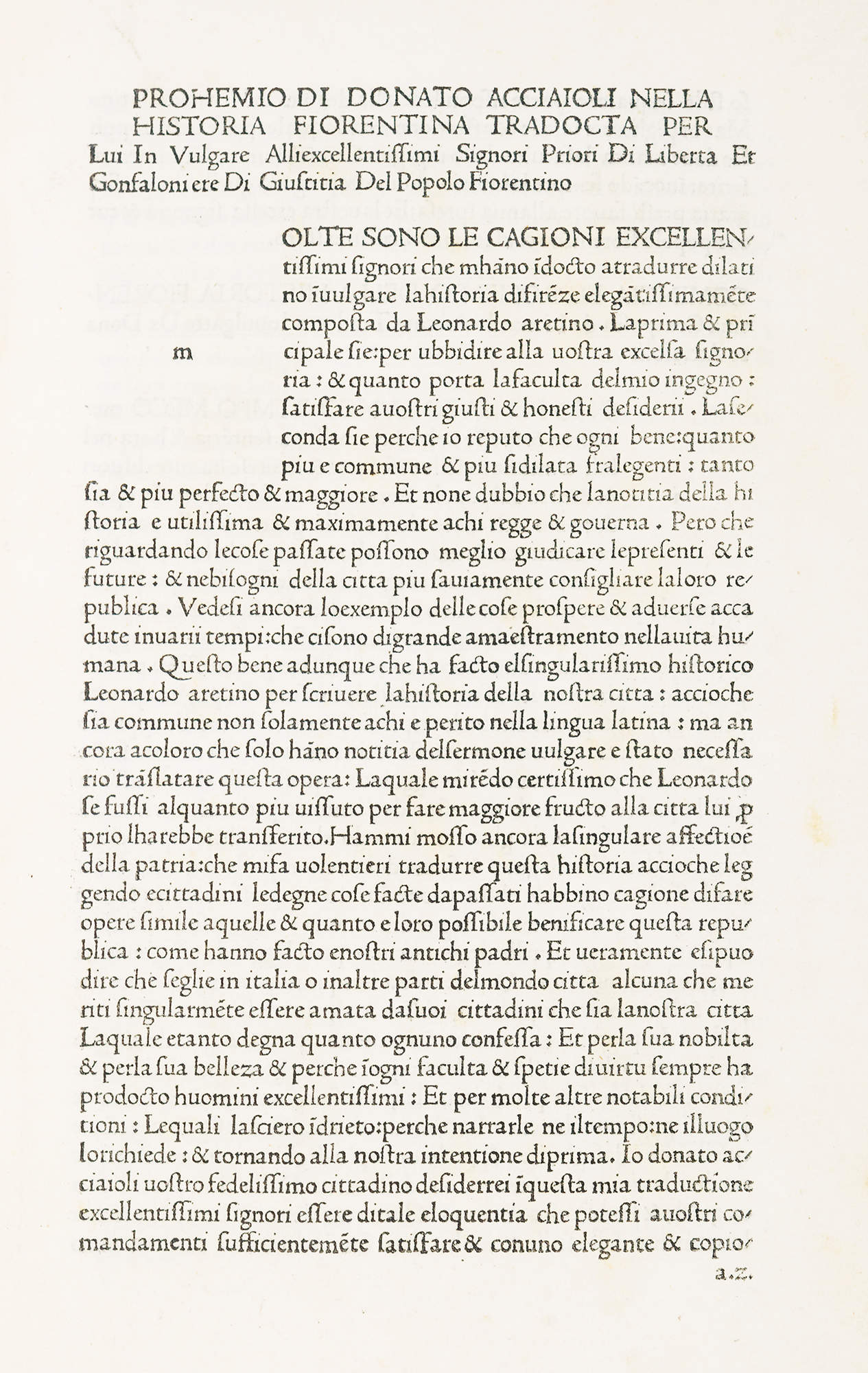 Historia fiorentina