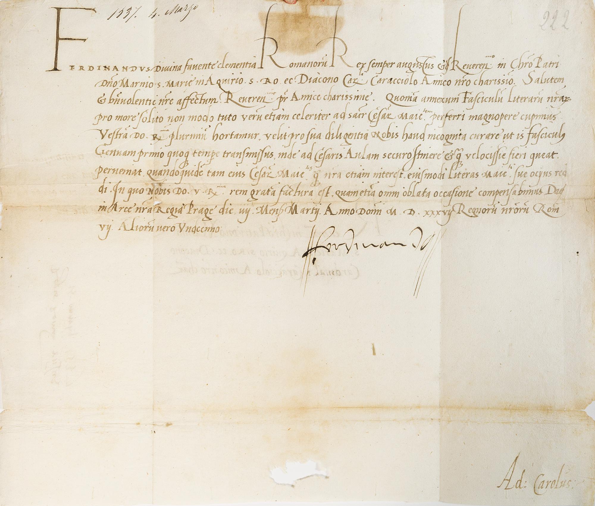 Lettera firmata