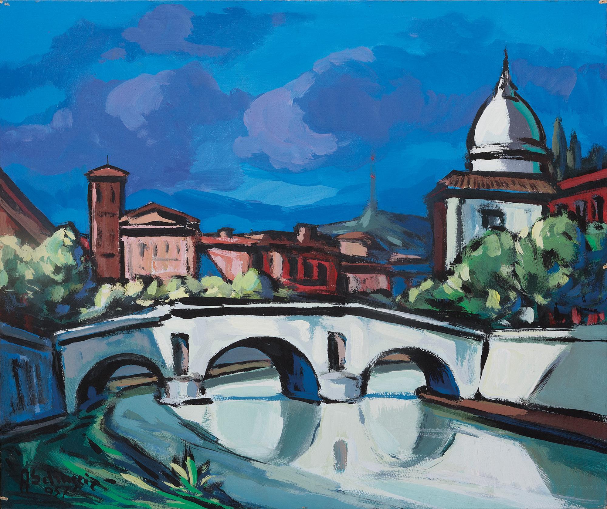 Paesaggio romano, 1957