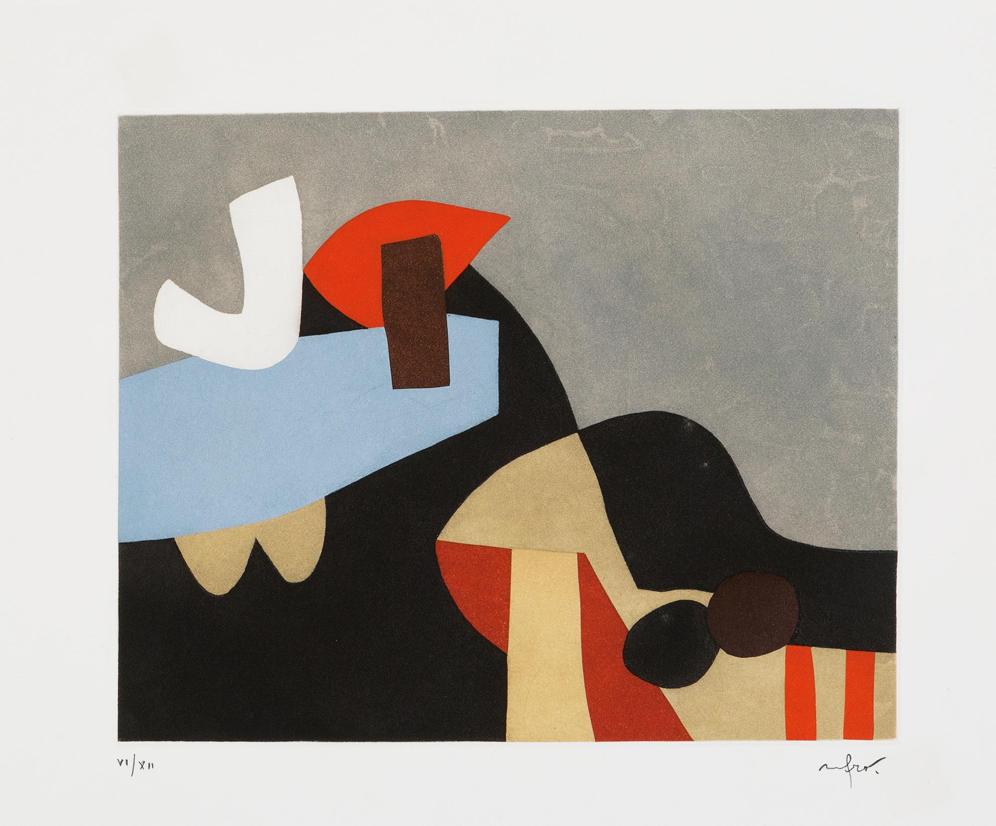 Baudelaire – L'invitation au voyage, Tav.A, 1975