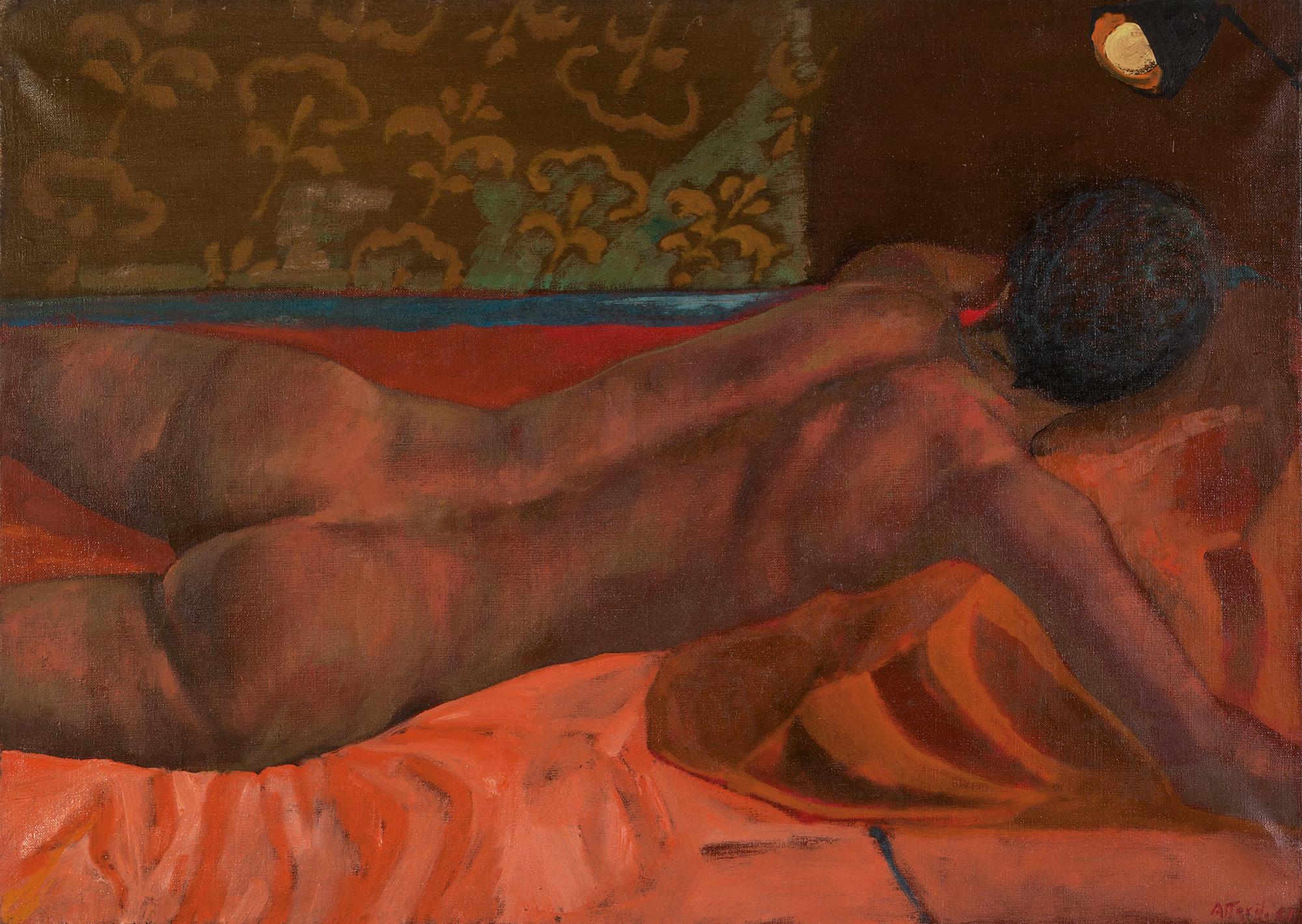 Nudo sdraiato, 1981