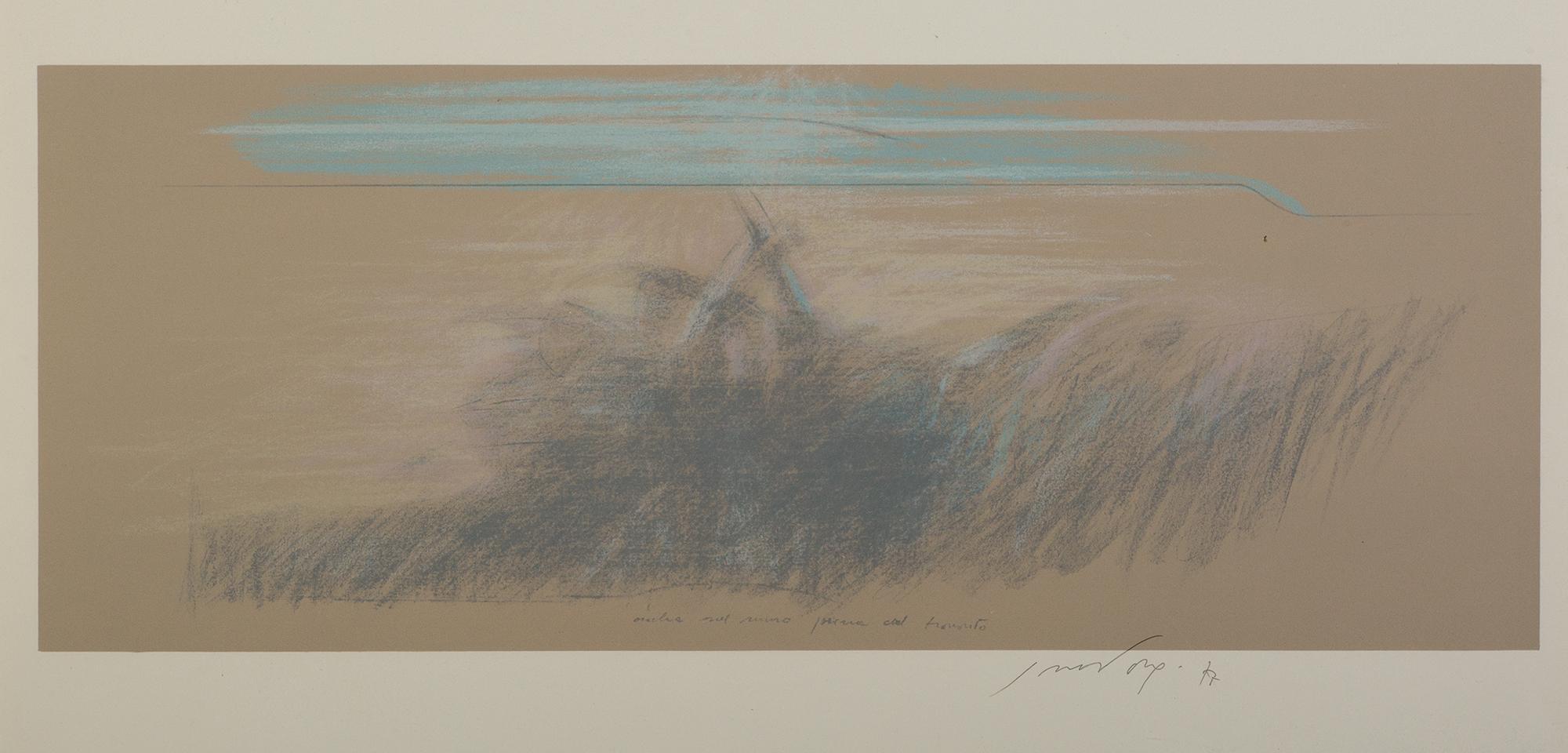 Ombra sul muro prima del tramonto, 1977