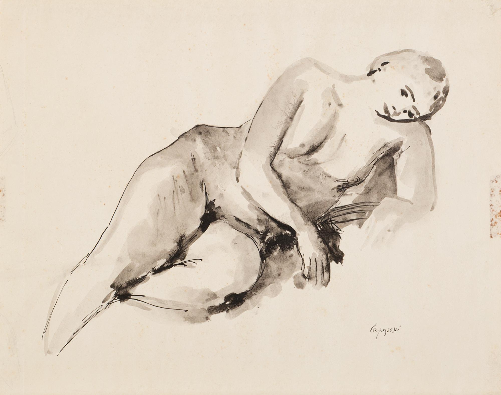Nudo femminile disteso, 1942/'44